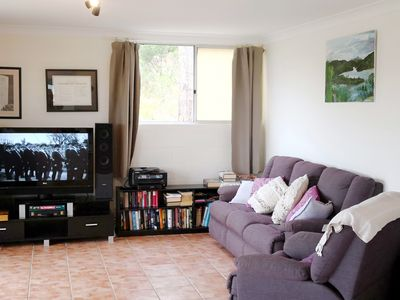 Photo for Pet-friendly, five tranquil acres near Pambula Beach overlooking the Lake.