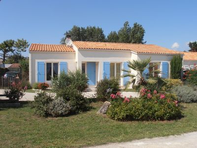 Photo for -85m2 independent villa, loc.à fortnight (high and very hte season)