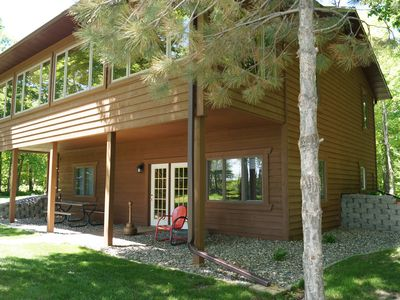 Photo for NEW Lake Front Home on Round Lake in the heart Brainerd/Mille Lacs/Cuyuna area