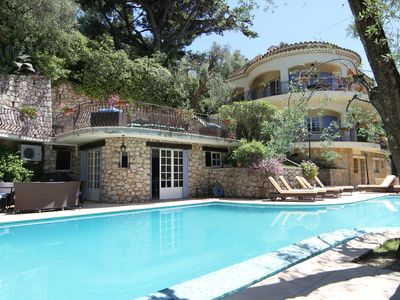 Photo for Beautiful, exclusive air conditioned villa with 17m private pool