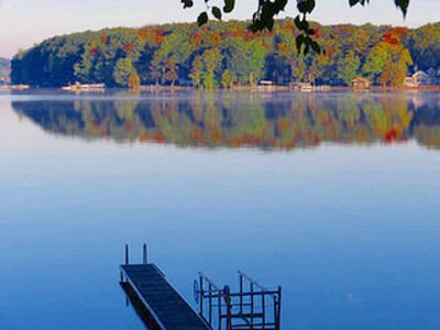 Photo for Long Lake rental with dock and great view!