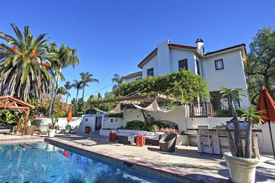 Come escape to this unique El Cajon vacation rental home, featuring a pristine swimming pool and incredible outdoor living spaces!