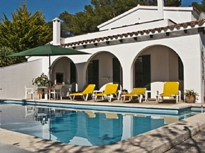 Photo for Large, Family Villa With Private Pool, Son Parc, Menorca