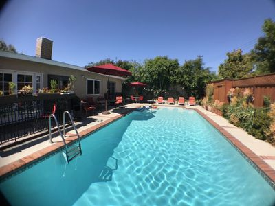 Photo for Family Home Near Disneyland, Private Pool by 18 hole Golf, Movies, Shops, Safe