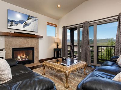 Photo for Brand-New 3BR w/ Two Living Areas – Private Hot Tub, Minutes to Skiing