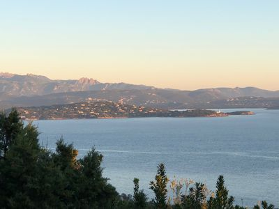 Photo for Porto Vecchio, detached villa 8 people with sea and mountains view
