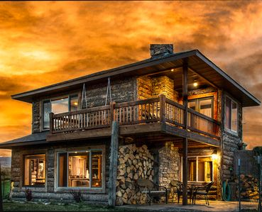 Photo for **ROMANTIC PARADISE GETAWAY IN THE MOUNTAINS w/ HOT TUB!**