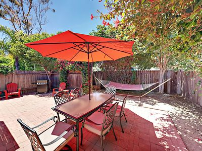 Photo for 3BR Bungalow w/ Patio & Outdoor Shower – Walk to Beach, Bars, & Restaurants