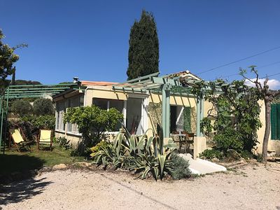 """Photo for Provencal """"Cabanon"""" with pedestrian access to the cove of Port d'Alon for 2 / 4p"""