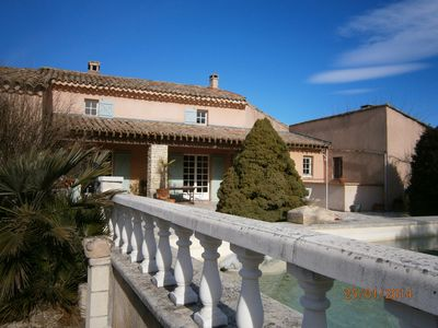 Photo for PROMO Mas near Vaison 7 pers without neighbors, pool prrivee