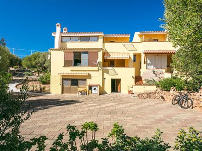 """Photo for Wheelchair Accessible Holiday Apartment """"Casa Rosa"""" with Mountain View, Sea View, Garden & Terrace; Parking Available"""