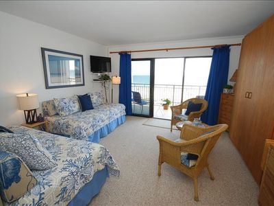 Photo for Oceanfront Studio Condo With Community Pool!