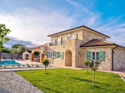 Villa on an Island in Krk with Pool & Artistic Interiors