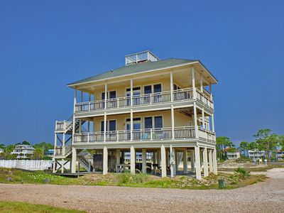 "Photo for Ready now - No storm issues! FREE BEACH GEAR! Beachside, Pets OK, Pool, Hot Tub, Wi-Fi, 5BR/4BA ""Salt Air"""