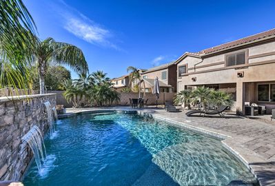 Experience the sunshine from this stunning Maricopa vacation rental oasis!