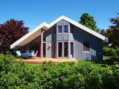 Photo for Sunny Danish cottage44. de am See in the holiday park Mirow