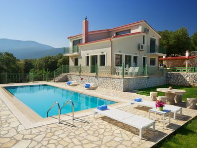 Photo for Utopia Luxury Villa with panoramic sea and mountain views!