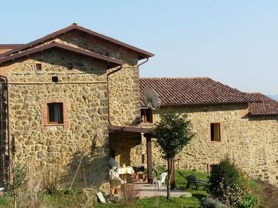 Photo for The apartment is inside a farm located in a small village dating  back to 1300