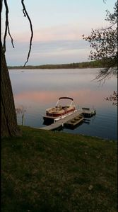 Dock to tie your boat to or pontoon available to rent.