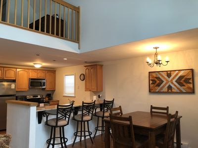 Photo for Cozy, modern home. Ski resorts close by +fireplace in Pocono Arrowhead community