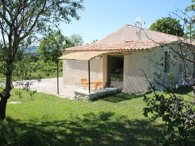 Photo for detached stone house in Forcalquier, in the countryside, with superb views