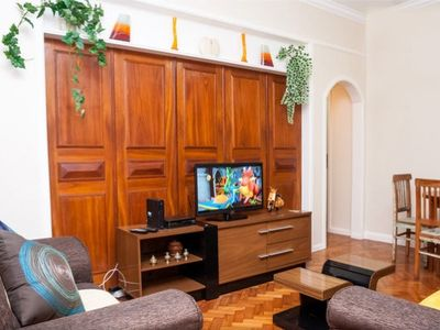 Photo for Copacabana, 2 bedrooms on the beach