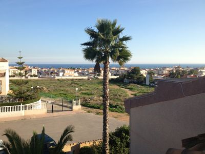 Photo for Roof terrace with sea view and sun, sun, sun ......