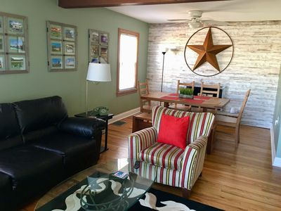 Beautifully renovated home with charm!  Sleeps 7.  Located close to EVERYTHING!