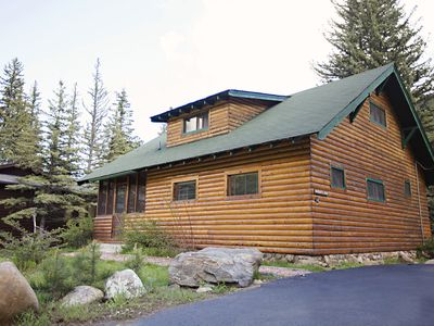Photo for Historic Naughty Pine Cabin on the Big Thompson River