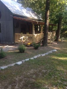 Photo for Clays View Is a peaceful cabin in the country close to Mountain View Arkansas.