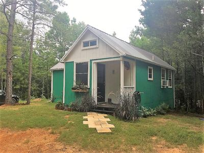 Photo for PARADISE COTTAGE situated on 42 acres in the Piney Woods of East Texas