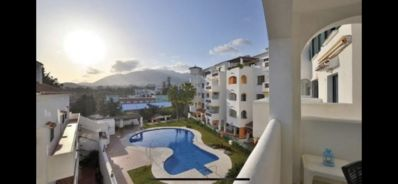 Photo for Pueblo del Parque - Charming 1 bedroom apartment with garden and mountain views