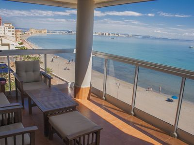 Photo for Amazing view to the Mediterranean Sea & free WiFi and Satellite TV suscription