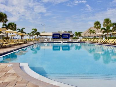 Photo for Direct Beach Access! Two Design Units for 8 Guests, Pool, Parking and More!