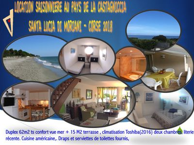 Photo for seasonal rental in the country of Castagnicca Corsica