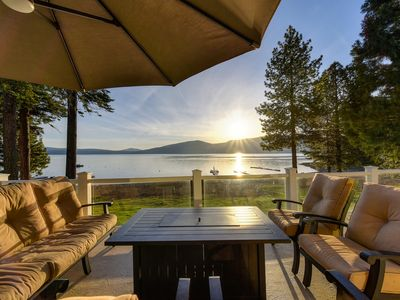 Photo for Great Beach - Lakefront Home in Lake Almanor Country Club