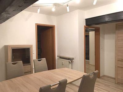 Photo for Stylish apartment right on the Waldnaab OG - apartment right on the Waldnaab
