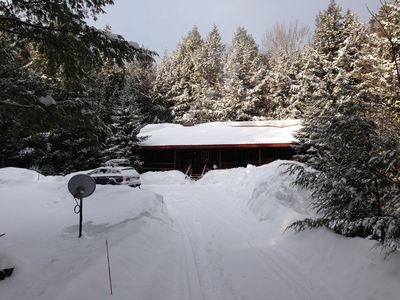 Authentic Vermont Log Cabin Between Mount Snow and Stratton - No monthly rentals