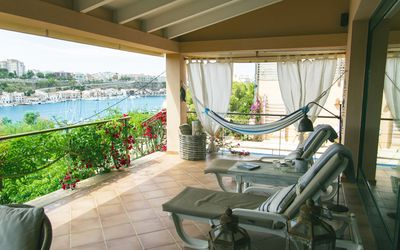 Photo for Villa overlooking the port of Mahón, 8 people