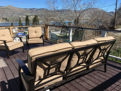 Photo for Stunning Lake Views, Master Suite with King Bed, Just Steps from Lakeside Beach