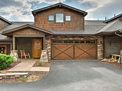 Photo for Hip Estes Park Home w/ Rocky Mtn Views from Patio!