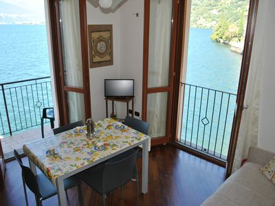 Photo for Starlake Residence Como lake front De Luxe apartement with private parking space