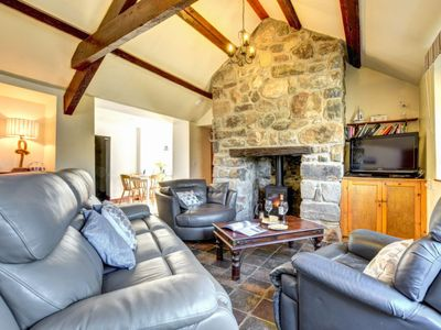 Photo for Vacation home Stabal y Rhyd in Abersoch - 6 persons, 3 bedrooms