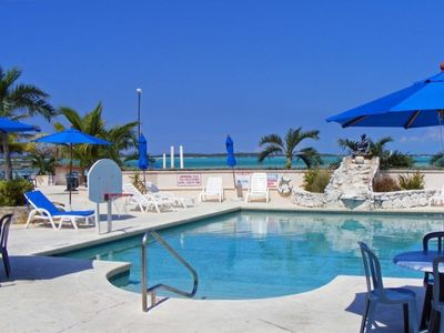 Photo for 1BR Beachfront Villa at Palm Bay Beach Club on Great Exuma