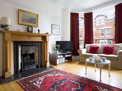 Photo for Central spacious luxury period house sleeps 8 + cot, 5 bed/4 baths, quiet area