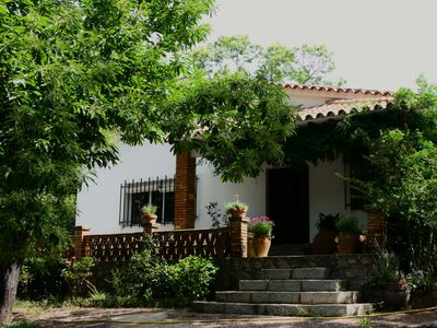 Photo for Villa in Fuenteheridos with land. 10 places. 4 bedrooms. two bathrooms