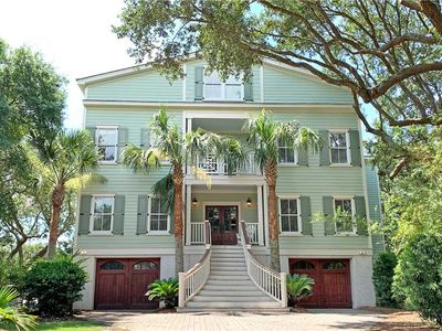 Photo for 7 Abalone Alley- Luxury Isle of Palms Home with Rooftop Deck & Private Pool. Easy Walk to Beach!