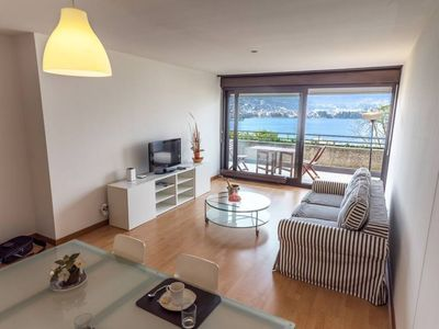 Photo for Romantic Apartment overlooking the Gulf of Lugano