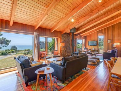 Photo for Ocean View House, Short walk from Pebble Beach, WiFi Included! Blue Paloma
