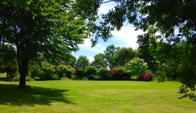 Gardens and large lawn for games, football or cricket